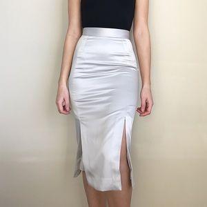 H&M midi skirt w/ 2 front slits